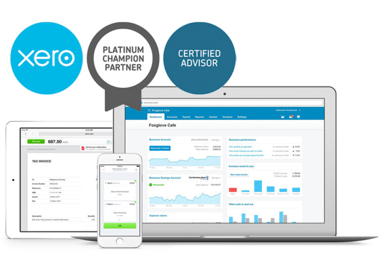 Livesync Accounting Xero Platinum Partner
